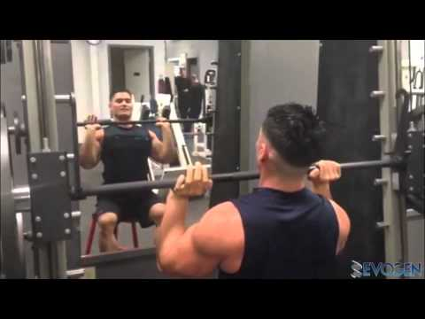IFBB Pro Jeremy Buendia Quick Tip: Smith Machine Shoulder Press Image 1