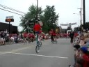 2007-07-04-Canonsburg Fourth of July Parade Unicycle