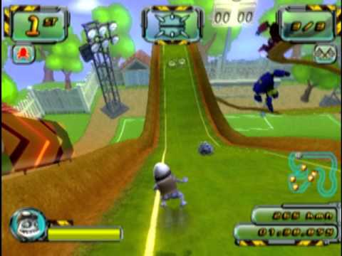 Crazy Frog Racer 2 (PS2 Gameplay)