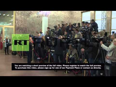 Germany: Steinmeier greets Middle East leaders at Syria refugee talks