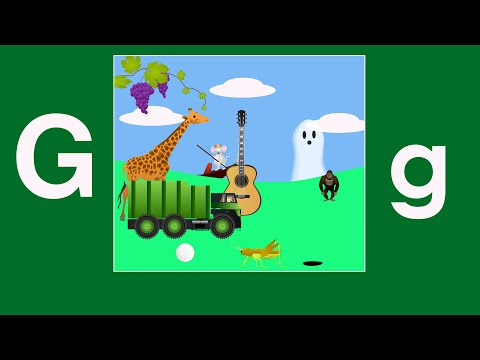 Alphabet Songs - The Letter G