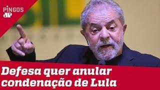 Lula quer anular condenação no caso do triplex
