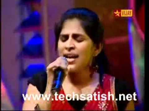 Pooja rocking airtel super singer 3 video