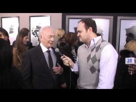 Christopher Plummer chats Dragon Tattoo & Sound of Music with Brad Blanks