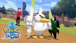 Pokemon Sword And Pokemon Shield - Sirfetch'd Reveal Trailer