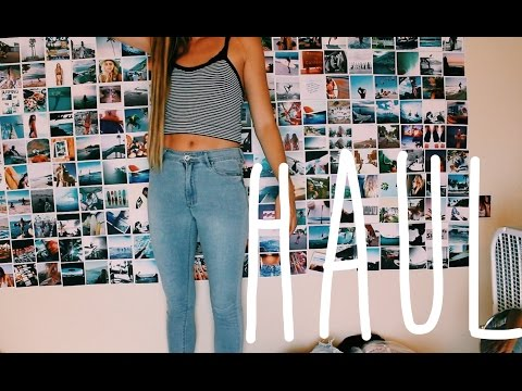 HAUL (try-on) Urban Outfitters, American Apparel, LF, Hanger 221