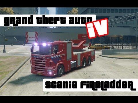 [REL]GTA 4 Scania (NL) Fireladder v2