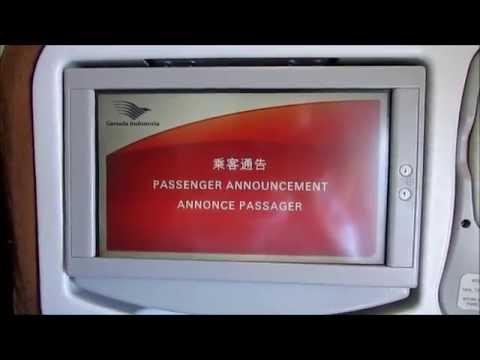 Garuda Indonesia Airbus A330-200 Economy Class Review: GA829 Singapore - Jakarta