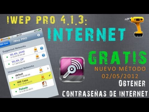iWep PRO 4.1.3: Hackea Redes de Internet [WiFi] con tu iPhone/iPod/iPad | Hack WiFi Networks
