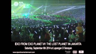 EXO GREETING - THE LOST PLANET in JAKARTA