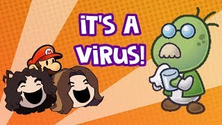 "GameGrumps: ""It's a Virus"" from Paper Mario TTYD"