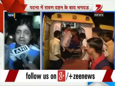 Patna: Stampede at Gandhi Maidan after Dussehra celebrations