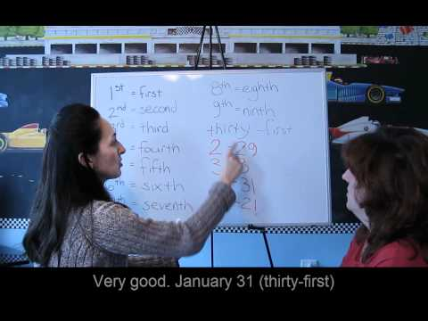 Lesson 40 - Dates - Learn English with Jennifer