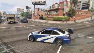 Grand Theft Auto V BMW E46 M3 GTR