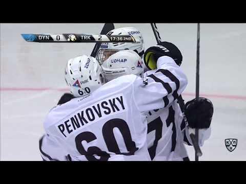 ХК Динамо М - Трактор 1:4, 13 сентября 2017