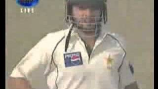 Ajit Agarkar scared by Afridi