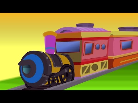 Chikku Chikku Railu - Telugu Nursery Rhymes - Cartoon And Animated Rhymes For Kids video