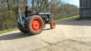 Fordson Major E27N TVO with Hesford winch