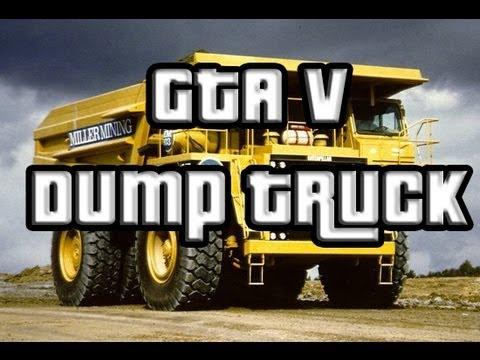 Gta 5 Dump Truck Location Gta 5 Yellow Dump Truck