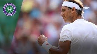 Rafael Nadal vs Juan Martin Del Potro QF Highlights | Wimbledon 2018