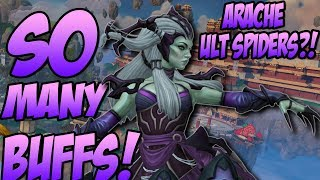 SO MANY BUFFS! ARACHNE'S GOT EVEN MORE SPIDERS! - GrandMasters Ranked Duel - SMITE