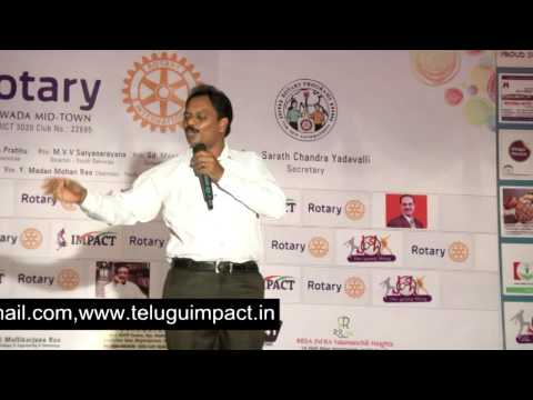 Power of Smile by Venu Gopal Tiruvedhi at  IMPACT VIJAYAWADA 2014