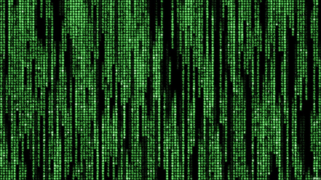 Как сделать зеленую матрицу