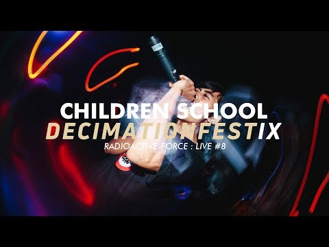 Radioactive-Force : Live #8 - CHILDREN SCHOOL - Dedication + For The First Time (Insted Cover)