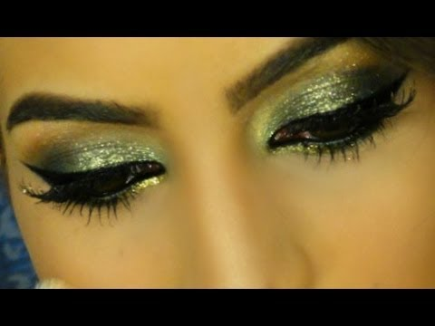 Glam Smokey pra festa por Camila Coelho