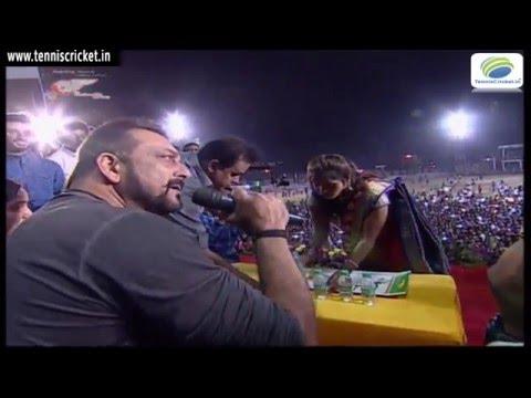 Sanjay Dutt at Pratibha vilas trophy  | LIVE Pratibha Vilas A1 Cup 2016 - Bhiwandi