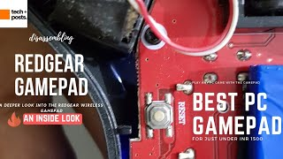 Redgear Pro Wireless Gamepad Review with Inside look- Vibrators | Motors | Battery | Troubleshoot