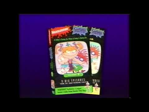Opening and Closing to Rugrats: Angelica the Divine 1994 VHS