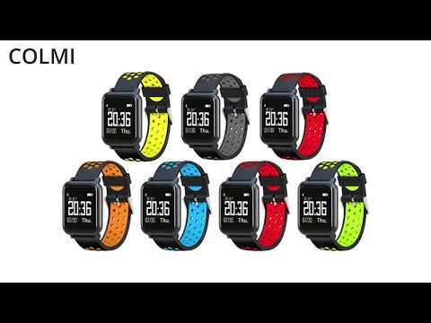 COLMI smartwatch S9 2.5D OLED Screen Gorilla Glass Fitness Tracker Blood pressure IP68 Waterproof