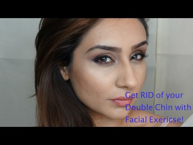 Get rid of your double chin in 6/8weeks facial exercise || Raji Osahn