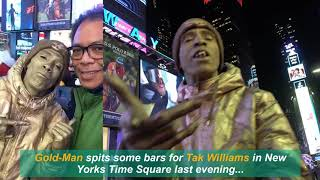 NYC Time Square   Street Performer