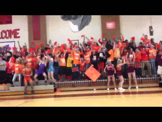Harlem Shake William Byrd High School Student Section