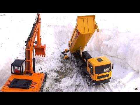 RC ADVENTURES - 4200XL Excavator & 8x8 Tipper -