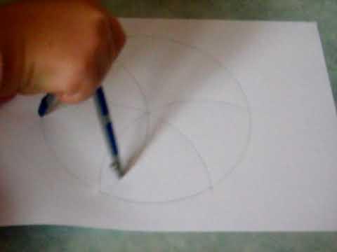 Comment dessiner une rosace simple facilement youtube - Comment dessiner une sorciere facilement ...