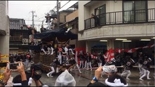 【岸和田だんじり祭】20170916 宵宮 S字カーブ No.2 (Japanease Danjiri in Kishiwada Osaka  2017/09/16)