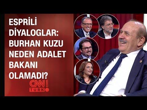 Tarafsız Bölge'de esprili diyaloglar: Burhan Kuzu neden Adalet Bakanı olamadı?
