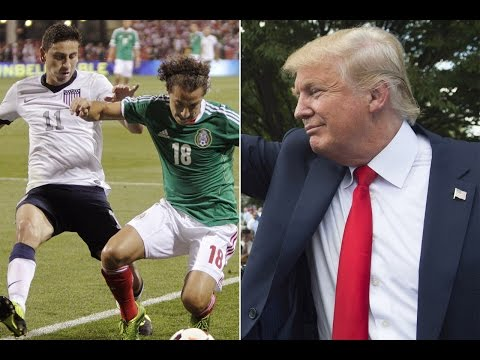 Fox Sports Uses Trump to Hype U.S. Vs. Mexico Soccer Match