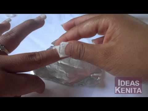 Como quitar las uñas postizas sin dolor