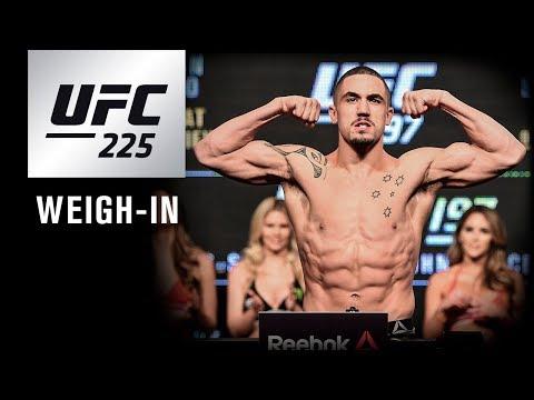 UFC 225: Weigh-in