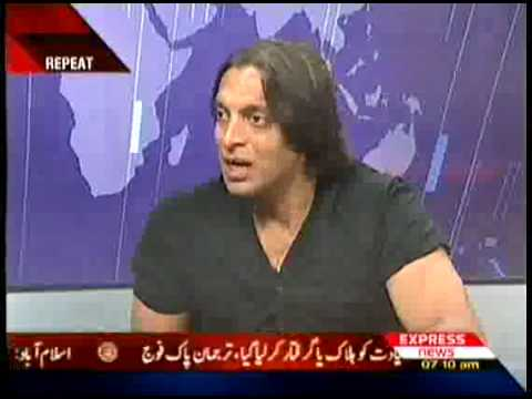 shoaib akhter with luqman,expresss news-1of5