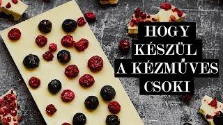 Így készül a kézműves csoki - Demeter Chocolate