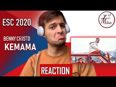 Eurovision 2020 - Czech Republic [REACTION] - Benny Cristo - Kemama