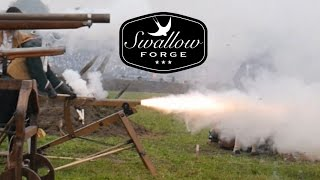 Homemade blackpowder Cannon... Quick montage. Swallow Forge