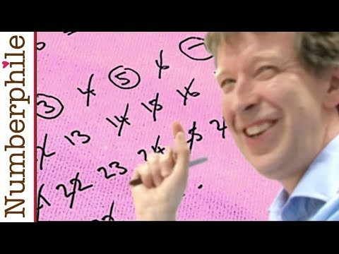 Gaps between Primes (extra footage) - Numberphile