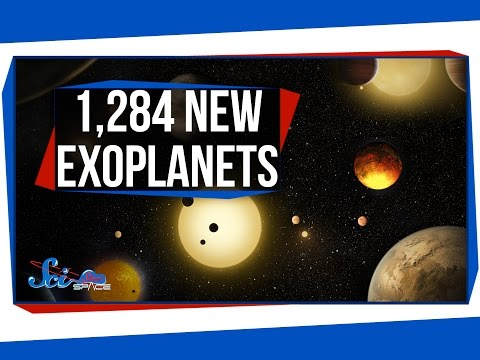1,284 New Exoplanets, and Tsunamis on Mars!