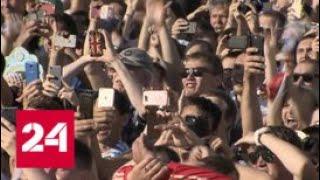 Матч Россия – Испания на Воробьевых горах смотрят 25 тысяч человек - Россия 24